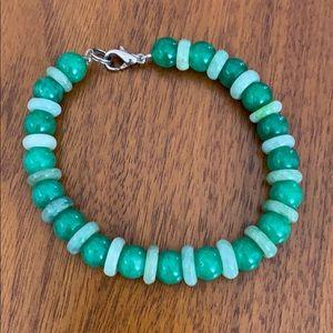 Jewelry - Green jade bracelet